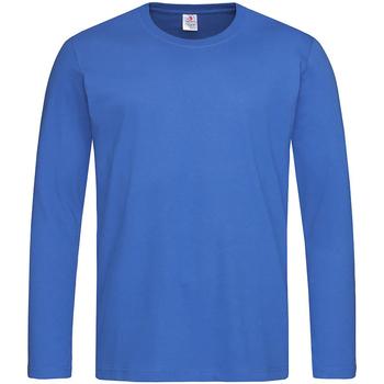 Vêtements Homme T-shirts manches longues Stedman Classics Bleu roi