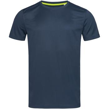 Vêtements Homme T-shirts manches courtes Stedman Active Mesh Bleu