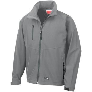 Vêtements Homme Coupes vent Result R128M Gris argenté