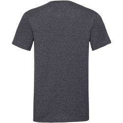 Vêtements Homme T-shirts manches courtes Fruit Of The Loom Valueweight Gris foncé chiné