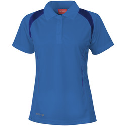 Vêtements Femme Polos manches courtes Spiro Performance Bleu roi/Bleu marine