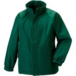 Vêtements Enfant Coupes vent Jerzees Schoolgear 875B Vert bouteille