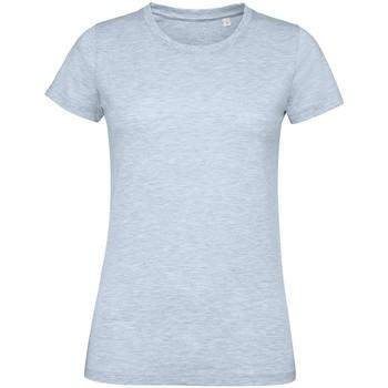 Vêtements Femme T-shirts manches courtes Sols Regent Bleu ciel chiné