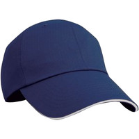 Accessoires textile Casquettes Result Contrast Bleu marine/Blanc