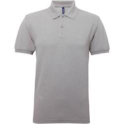 Vêtements Homme Polos manches courtes Asquith & Fox Performance Gris