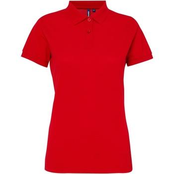 Vêtements Femme Polos manches courtes Toutes les chaussures femme Performance Rouge vif