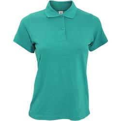 Vêtements Femme Polos manches courtes B And C Safran Turquoise