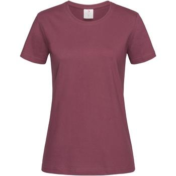Vêtements Femme T-shirts manches courtes Stedman Classics Bordeaux