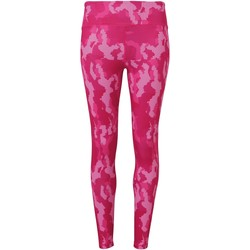 Vêtements Femme Leggings Tridri Hexoflage Camouflage rose