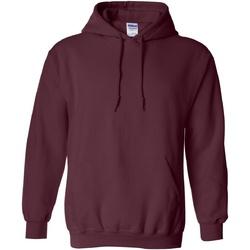 Vêtements Sweats Gildan Hooded Bordeaux foncé
