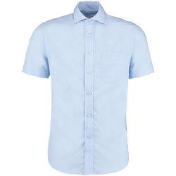Vêtements Homme Chemises manches courtes Kustom Kit KK115 Bleu clair