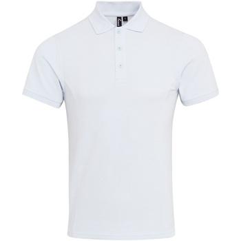 Vêtements Homme Polos manches courtes Premier Coolchecker Blanc