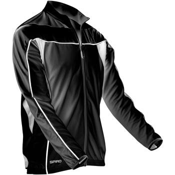 Vêtements Homme Vestes de survêtement Spiro Performance Noir/Blanc