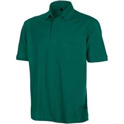 Vêtements Homme Polos manches courtes Result Apex Vert bouteille