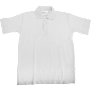 Vêtements Garçon Polos manches courtes Kustom Kit Superwash Blanc
