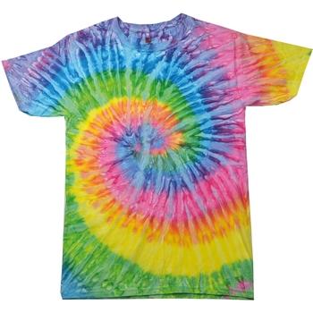 Vêtements Femme T-shirts manches courtes Colortone Rainbow Saturne