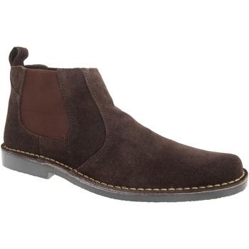 Chaussures Homme Boots Roamers Classics Marron foncé
