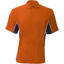 Vêtements Homme Polos manches courtes Gamegear Pique Orange/Gris/Blanc