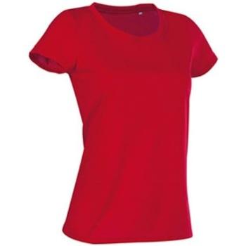 Vêtements Femme T-shirts manches courtes Stedman Cotton Touch Rouge