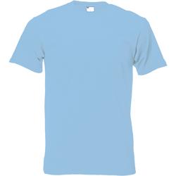 Vêtements Homme T-shirts manches courtes Universal Textiles 61082 Bleu clair