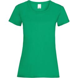 Vêtements Femme T-shirts manches courtes Universal Textiles 61372 Vert