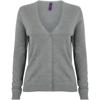Vêtements Femme Gilets / Cardigans Henbury  Gris ardoise