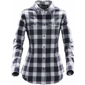 Vêtements Femme Chemises / Chemisiers Stormtech SFX-1W Carreaux Gris claire