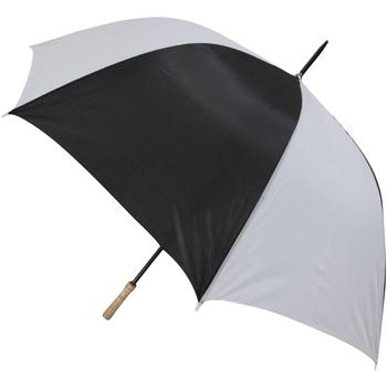 Accessoires textile Parapluies Universal Textiles Golf Noir et blanc