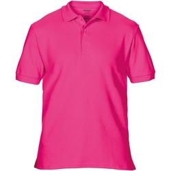 Vêtements Homme Polos manches courtes Gildan Premium Rose