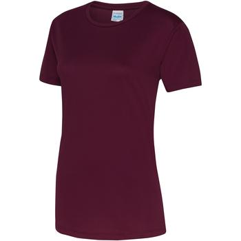Vêtements Femme T-shirts manches courtes Just Cool JC005 Bordeaux