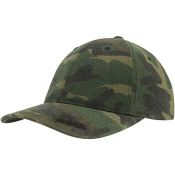 Accessoires textile Casquettes Flexfit  Vert camouflage