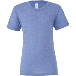 Vêtements Homme T-shirts manches courtes Bella + Canvas Triblend Bleu