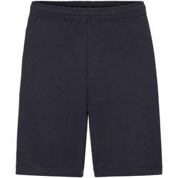 Vêtements Homme Shorts / Bermudas Fruit Of The Loom Casual Bleu marine profond
