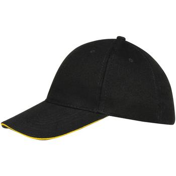 Accessoires textile Casquettes Sols Buffalo Noir/jaune
