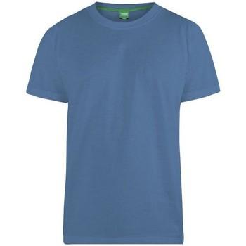Vêtements Homme T-shirts manches courtes Duke  Bleu ardoise
