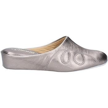 Chaussures Femme Chaussons Cincasa Menorca MAHON SLIPPER Etain