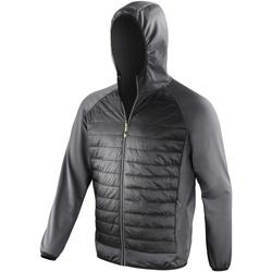 Vêtements Homme Coupes vent Spiro  Noir/Gris foncé