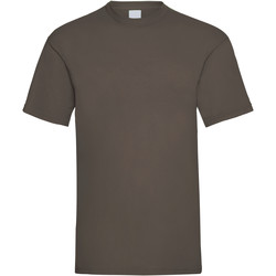 Vêtements Homme T-shirts manches courtes Universal Textiles Casual Marron foncé