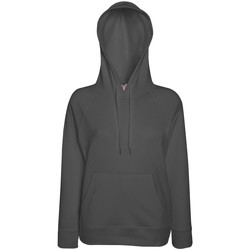 Vêtements Femme Sweats Fruit Of The Loom Hooded Graphite clair