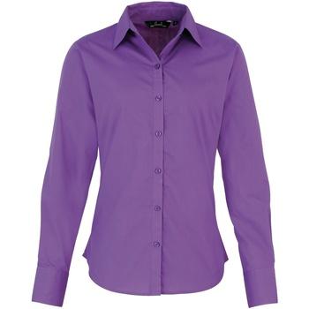 Vêtements Femme Chemises / Chemisiers Premier Poplin Violet clair