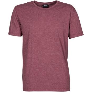 Vêtements Homme T-shirts manches courtes Tee Jays Melange Bordeaux chiné