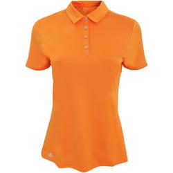 Vêtements Femme Polos manches courtes adidas Originals AD029 Orange vif