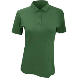 Vêtements Femme Polos manches courtes Anvil Pique Vert forêt