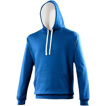 Vêtements Sweats Awdis Hooded Bleu roi / blanc