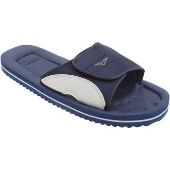 Chaussures Homme Claquettes Pdq Mule Bleu marine/Gris
