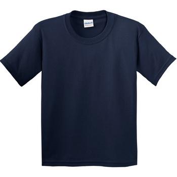 Vêtements Enfant T-shirts manches courtes Gildan 5000B Bleu marine