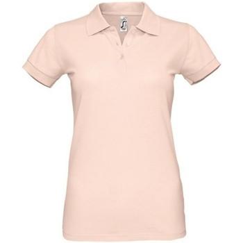 Vêtements Femme Polos manches courtes Sols 11347 Rose pastel