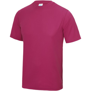 Vêtements Homme T-shirts manches courtes Just Cool Performance Rose