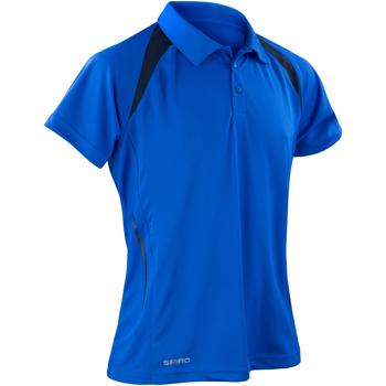 Vêtements Homme Polos manches courtes Spiro Performance Bleu roi/Bleu marine
