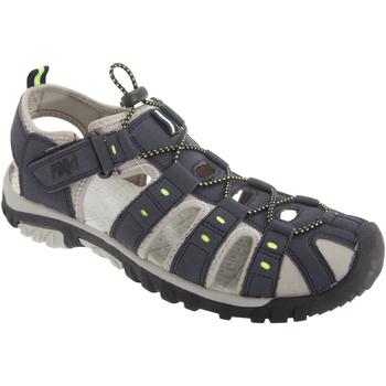 Chaussures Homme Sandales sport Pdq  Bleu marine/Vert citron